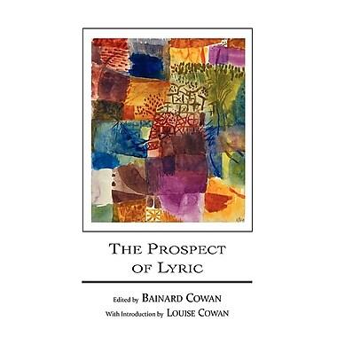 The Prospect of Lyric