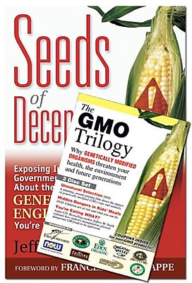 Seeds of Deception & GMO Trilogy (Book & DVD Bundle) 467563