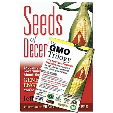 Seeds of Deception & GMO Trilogy (Book & DVD Bundle)