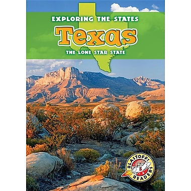 Texas: The Lone Star State (Blastoff Readers. Level 5)