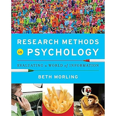 Research Methods in Psychology: Evaluating a World of Information, New Book