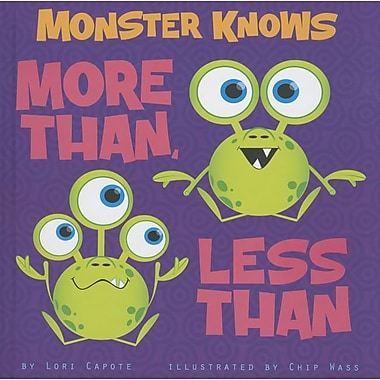 Monster Knows More Than, Less Than (Monster Knows Math)