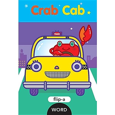 Flip-a-Word: Crab Cab (Hardcover)