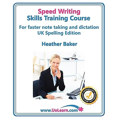Speed Writing Skills Training Course (Paperback)