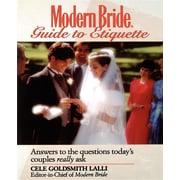 Modern Bride(r) Guide to Etiquette