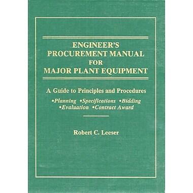 Engineer's Procurement Manual for Major Plant Equipment