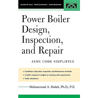 Power Boiler Design, Inspection, and Repair