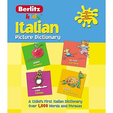 Italian Picture Dictionary (Kids Picture Dictionary) (English and Italian Edition)