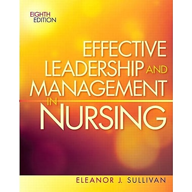 Effective Leadership and Management in Nursing, New Book