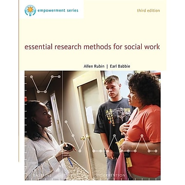 Brooks/Cole Empowerment Series: Essential Research Methods for Social Work, New Book