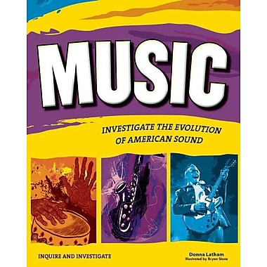 Music: INVESTIGATE THE EVOLUTION OF AMERICAN SOUND (Inquire and Investigate)