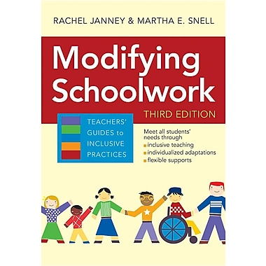 Modifying Schoolwork: Modifying Schoolwork, Third Edition (Teachers' Guides)