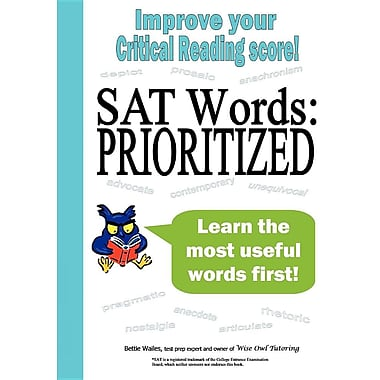 SAT Words: Prioritized