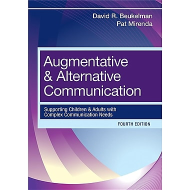 Augmentative and Alternative Communication, Used Book
