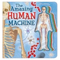 The Amazing Human Machine: Book with Acetate Body System Cards