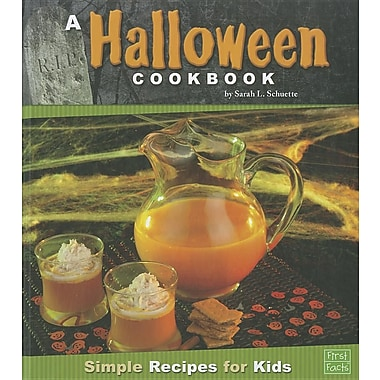 A Halloween Cookbook: Simple Recipes for Kids (First Cookbooks)