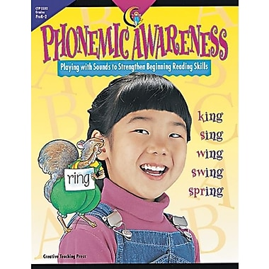 Phonemic Awareness: Playing With Sounds to Strengthen Beginning Reading Skills, New Book