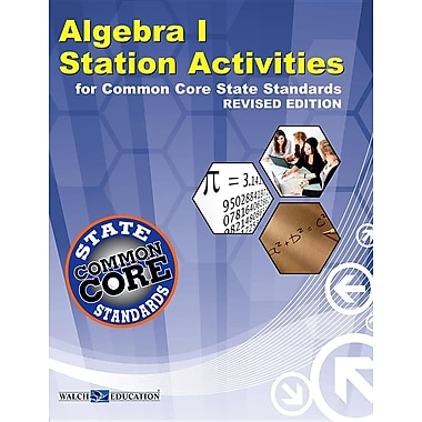 CCSS Station Act Algebra I, Revised Edition (Common Core)