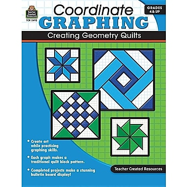 Coordinate Graphing: Creating Geometry Quilts, Grades 4 & Up