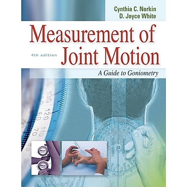 Measurement of Joint Motion: A Guide to Goniometry (4th edition)