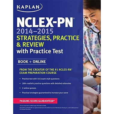 NCLEX-PN 2014-2015 Strategies, Practice, and Review with Practice Test, Used Book