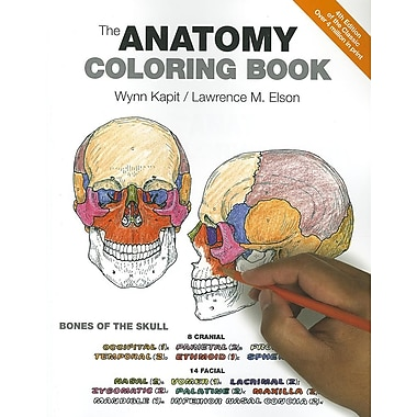 The Anatomy Coloring Book (4th Edition), New Book