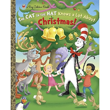 The Cat in the Hat Knows a Lot About Christmas! (Dr. Seuss/Cat in the Hat) (a Big Golden Book)