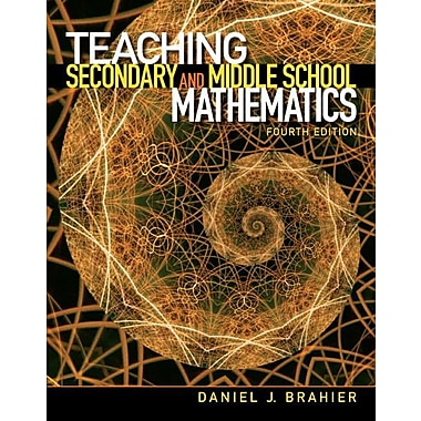 Teaching Secondary and Middle School Mathematics, Used Book