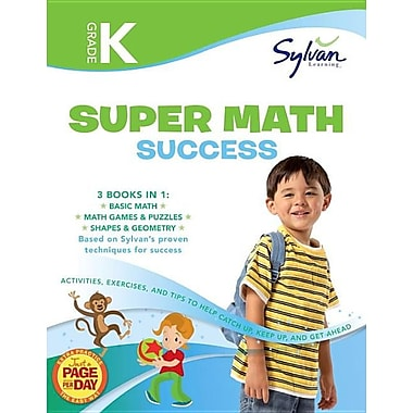 Kindergarten Super Math Success (Sylvan Super Workbooks) (Math Super Workbooks)
