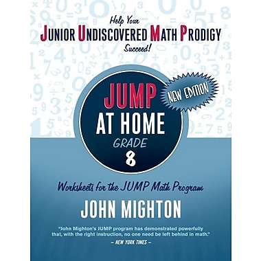 JUMP at Home Grade 8: Worksheets for the JUMP Math