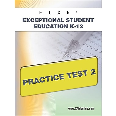 FTCE Exceptional Student Education K-12 Practice Test 2