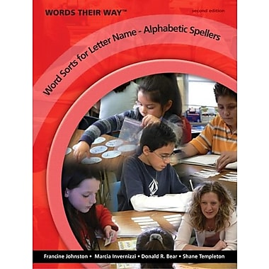 Words Their Way: Word Sorts for Letter Name - Alphabetic Spellers, New Book