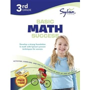 Third Grade Basic Math Success (Sylvan Workbooks) (Math Workbooks)