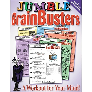Jumble BrainBusters!: A Workout for Your Mind (Jumbles)