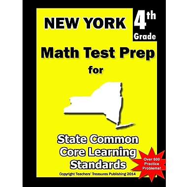New York 4th Grade Math Test Prep: Common Core Learning Standards