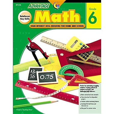 Advantage Math Grade 6 (Advantage Workbooks)