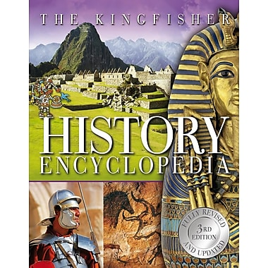 The Kingfisher History Encyclopedia, 3rd edition, New Book