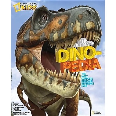 National Geographic Kids Ultimate Dinopedia: The Most Complete Dinosaur Reference Ever (Hardcover)
