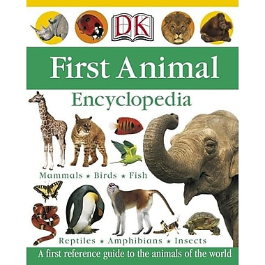 First Animal Encyclopedia (Dk First Reference Series), New Book