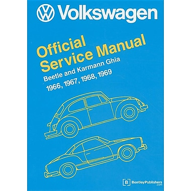Volkswagen Beetle and Karmann Ghia Service Manual