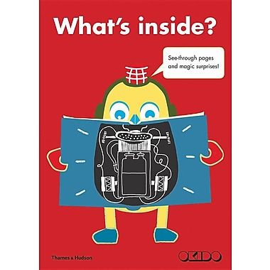 What's inside?: See-through pages and magic surprises!