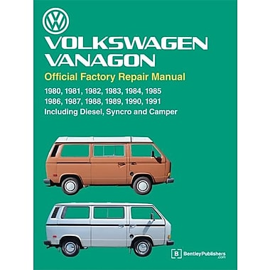 Volkswagen Vanagon Official Factory Repair Manual, Used Book