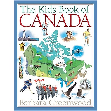 The Kids Book of Canada (Kids Books of...)