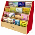 ECR4Kids Essentials  Book Display Stand; Red