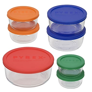 Pyrex Storage Plus 7 Piece Storage Dish Set