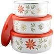 Corelle Happy Days 3 Piece Storage Bowl Set