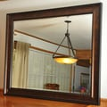 Rayne Mirrors Jovie Jane Bronze and Black Wall Mirror; 35.75'' H x 29.75'' W x 1'' D