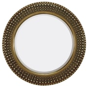 Majestic Mirror Traditional Round Bevel Mirror