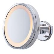 Jerdon Halo Wall Mount Lighted Mirror
