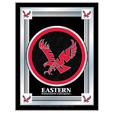 Holland Bar Stool NCAA Logo Mirror Framed Graphic Art; Eastern Washington